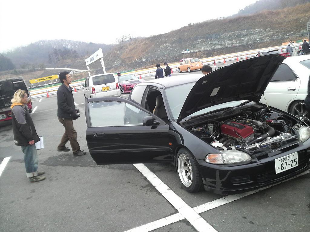 Rwd Honda Civic Eg6 F20c