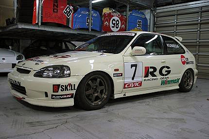 civic ek9 race car suzuka clubman champion