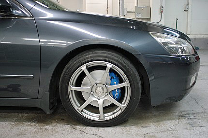 Spoon Calipers on a Honda Inspire